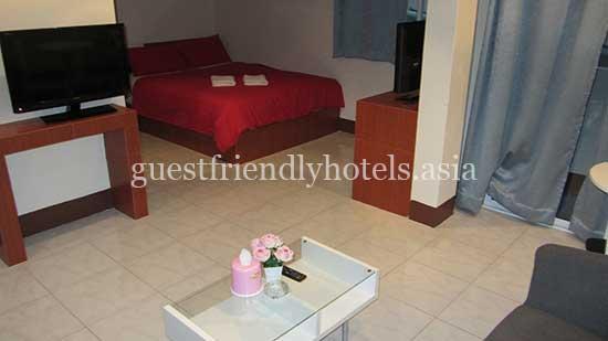 guest friendly hotels pattaya walking street guesthouse